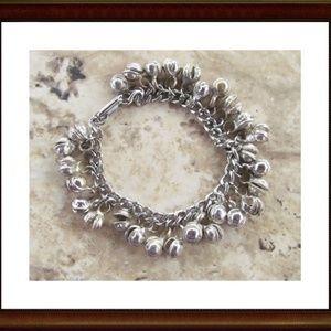 Silver Bell Bracelet